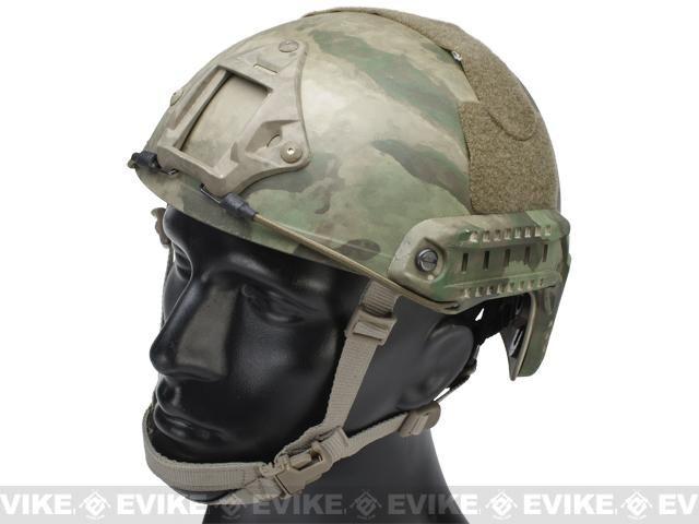 (BLACK FRIDAY DEAL!) Emerson Bump Type Tactical Airsoft Helmet (MICH Ballistic Type / Advanced / Arid Foliage)