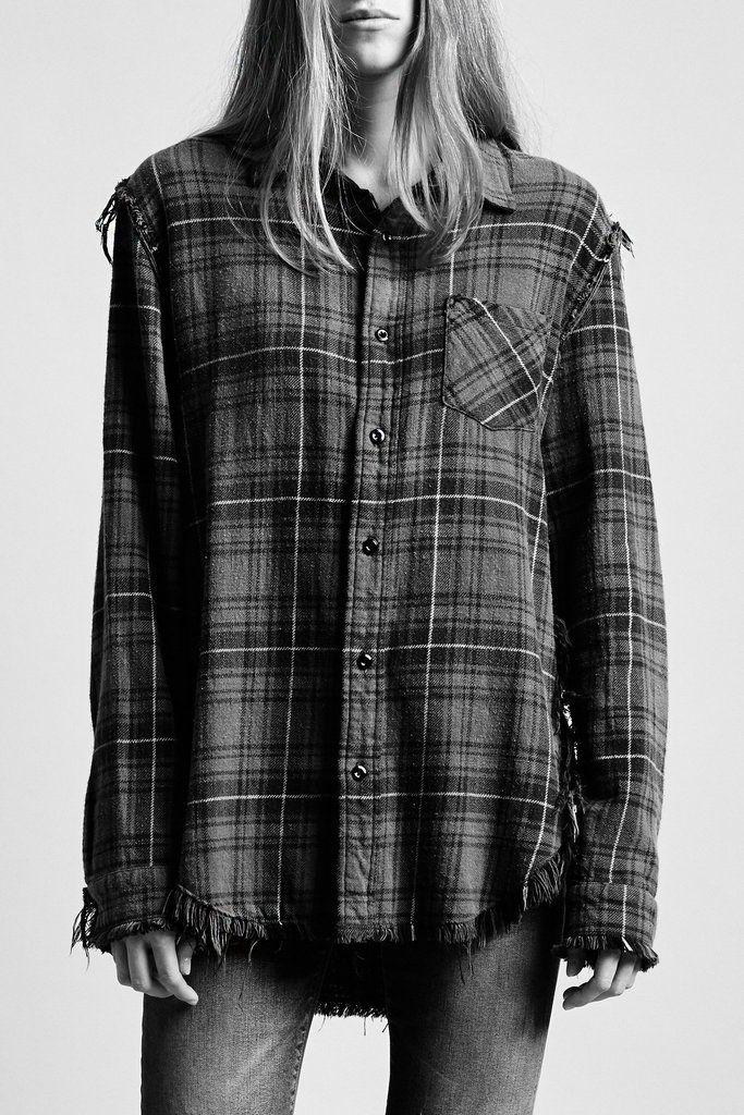 Shredded Seam Shirt