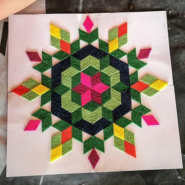 carawonga MANDALA textile mosaic stickers, we shipping wordwide