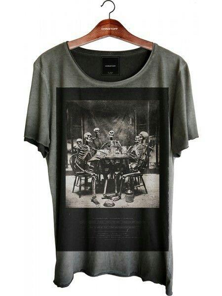 "CHRISTOFF* ""Skull Party"" T Shirt | DREAM WEAR"