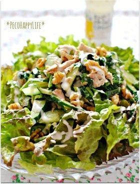 ツナとクリームチーズ和えのグリーンサラダ by 素敵にごはんchan ...