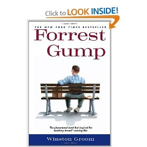 Love the movie, love the book.  You get more back story with the book and more hilarious antics of Forrest.