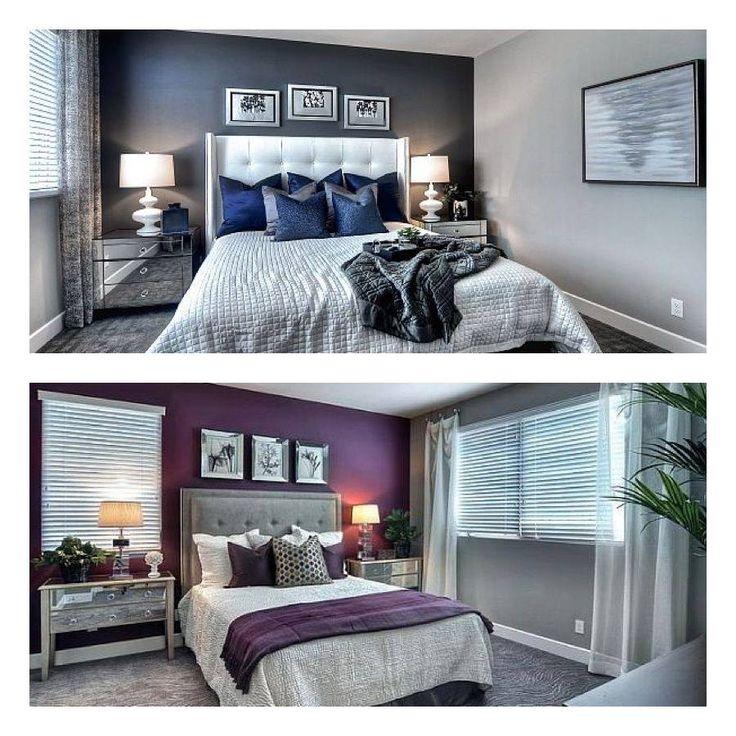 Purple Or Blue Bedroom Homedecor Interiordesign