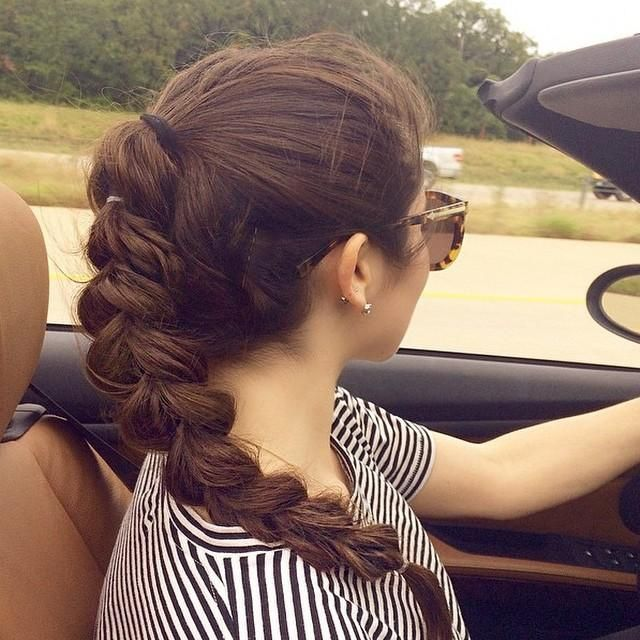 beautiful pull through braid on mariclairecranston perfect for summer
