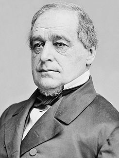 Hannibal Hamlin, 15th Vice President of the U.S.  Served under Abraham Lincoln during the Civil War.  Was the first Republican Vice President.