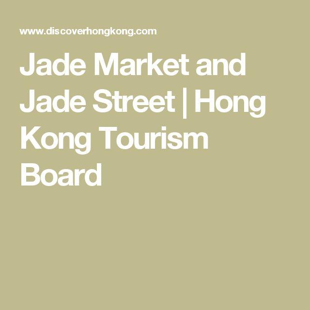 Jade Market and Jade Street | Hong Kong Tourism Board