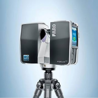 Compact laser scanner Focus 3D from Faro ~ Architects Datafile Products