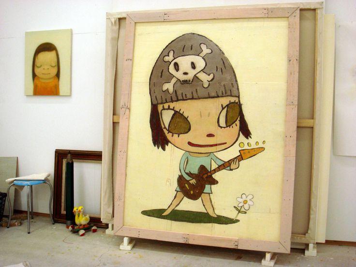 Yoshitomo Nara 2009  #yoshitomonara #art #contemporaryart #asia