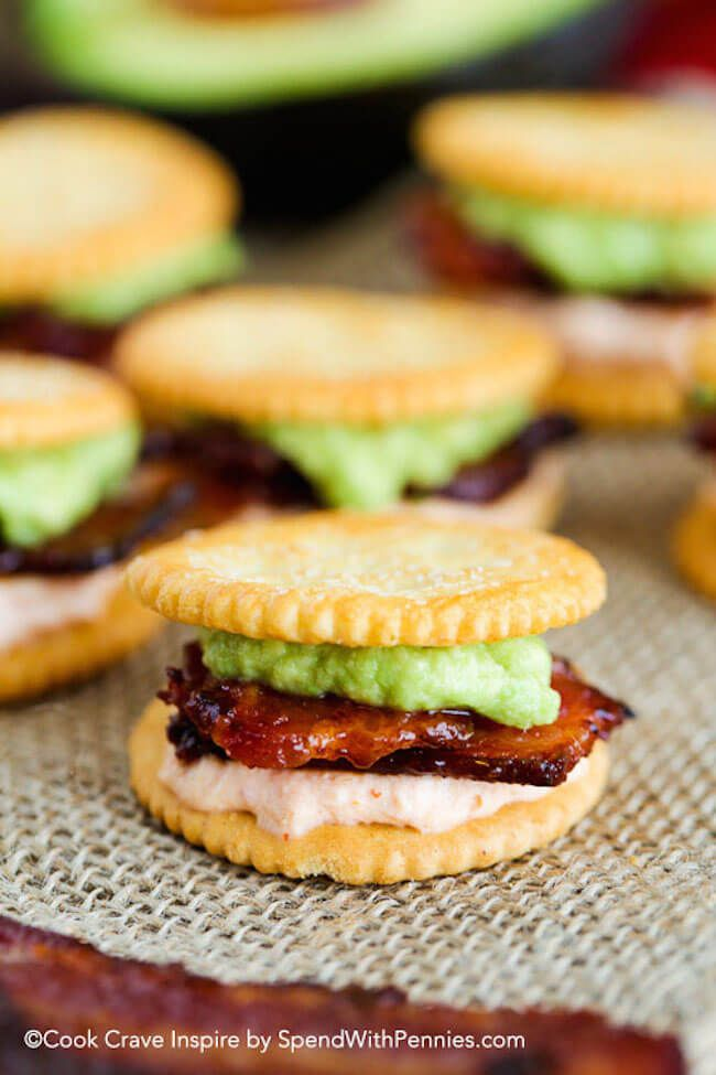 A quick and easy snack idea! These RITZwiches feat…