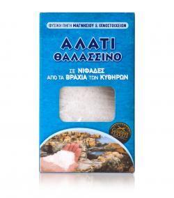 Sea salt flakes from Kythira island 250g 4,50 = 18 euros a kilo