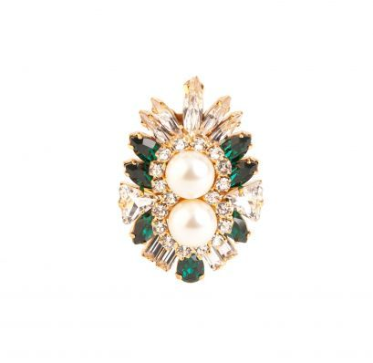 Lady Ring Emerald
