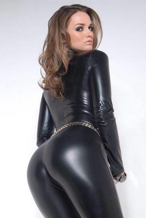 tori black spandex