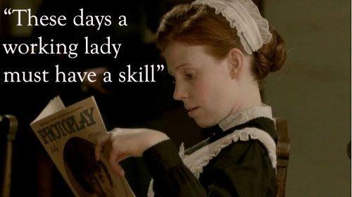 Working girl Ethel, Downton Abbey