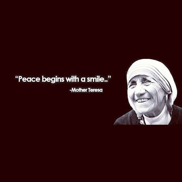 Top 100 mother teresa quotes photos Good morning everyone !! #motherteresaquotes #peacenowar #goodmorning See more http://wumann.com/top-100-mother-teresa-quotes-photos/