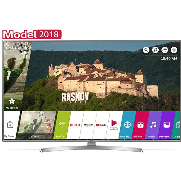 Televizor Led Smart Lg 55uk6950plb Ultra Hd Webos Ai 139cm Ultra Hd Led Smart