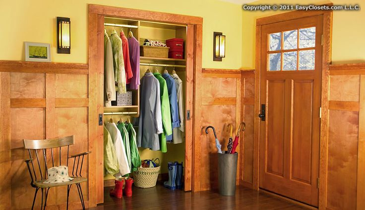 Foyer With No Closet : Closet designs for your foyer by easyclosets ideas