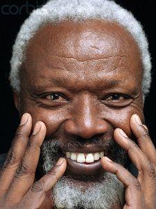145. Ousmane Sow que j'ai connu à Dakar. Il était le mari d'une amie.