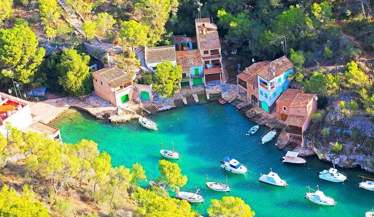 """Strand """"Cala Figuera"""" bei Santanyi im Osten von Mallorca"""