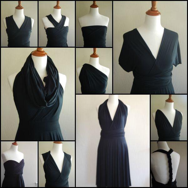 Convertible Dress Options | Convertible clothes | Pinterest ...