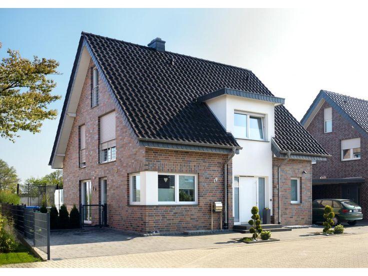 Verblender / Klinker Verblender K110-NF / Klinker / Fassade / rot-blau-bunt geflammt, glatt