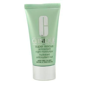 Clinique Super Rescue Antioxidant Night Moisturizer - kosteuttava yövoide ( eritt. kuiva - kuiva iho )  50ml/1.7oz