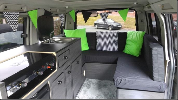 Complete DIY Campervan Conversion for Mazda Bongo