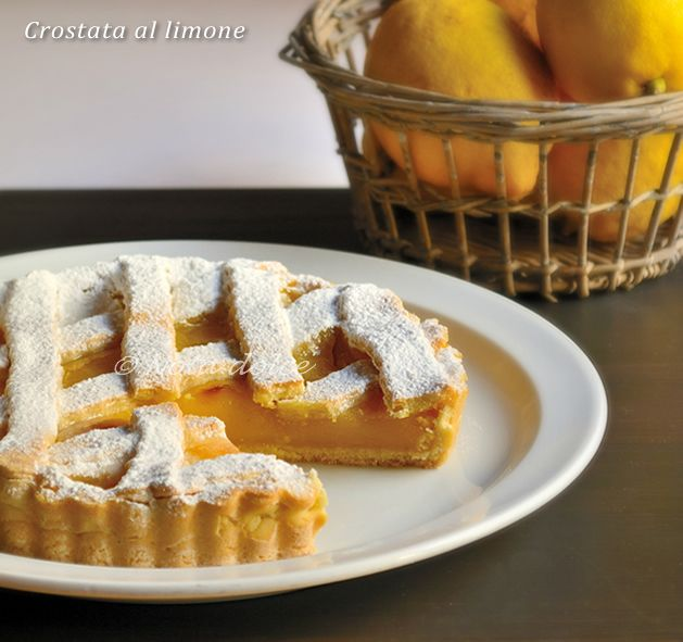 Crostata al limone ricetta dolce