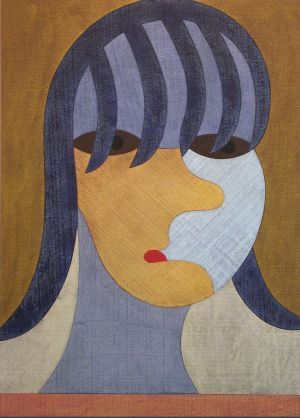 Barry Lett, 'Girl' Acrylic on reassembled plywood, 1310 x 940 mm, POA at the Remuera Gallery