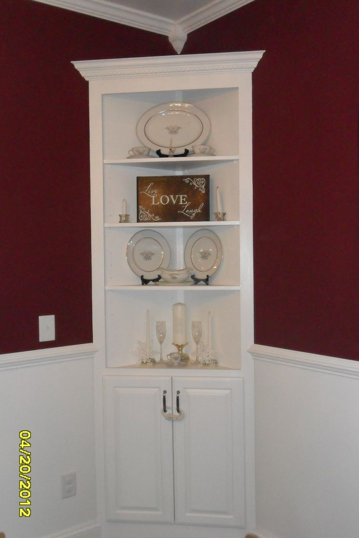 Build corner curio cabinet woodworking projects plans - Corner cabinet ideas ...