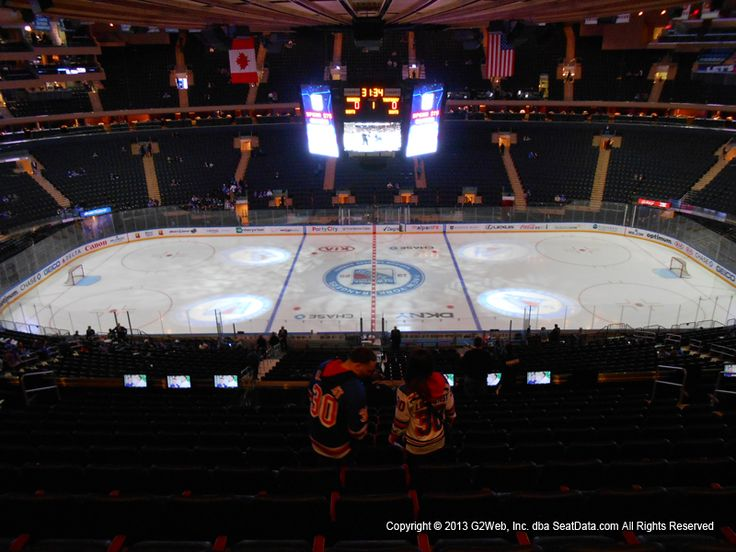 New York Rangers vs. Pittsburgh Penguins at Madison Square Garden - March 14, 2018 in New York, NY