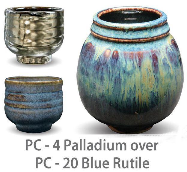 PC 4 PALLADIUM OVER PC 20 BLUE RUTILE