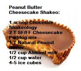 Peanut Butter Cheesecake Shakeology Recipe