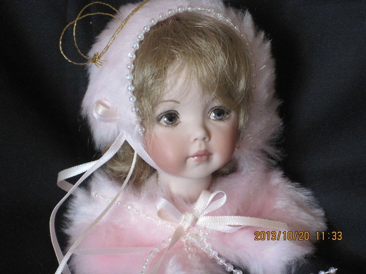 Porcelain Doll Ornaments | Victorian Doll Ornaments - Porcelain Dolls And Lace