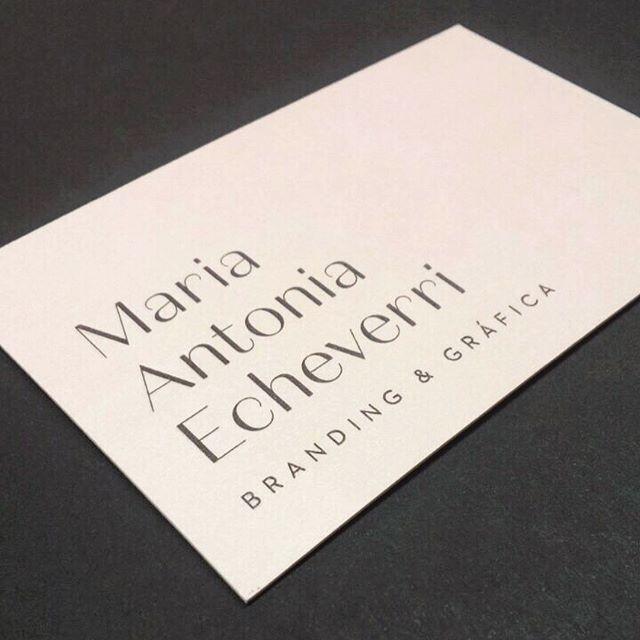 Personal Business cards - Personal branding mae / emboss pantone