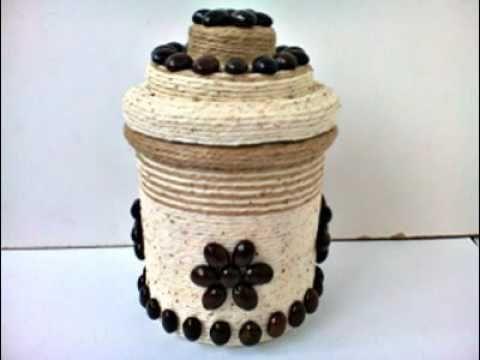 Decoratiuni cu sfoara  --Decorations with string