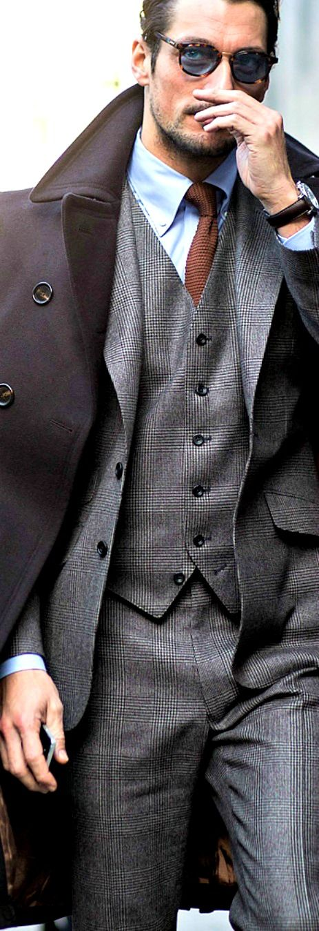 David Gandy ~ Vested Men's Suit