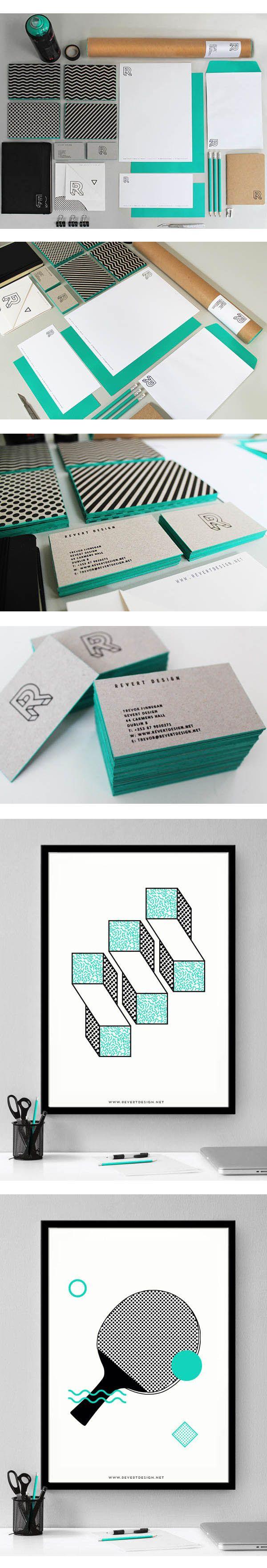 Revert Design – Studio #Brand #Identity by Trevor Finnegan