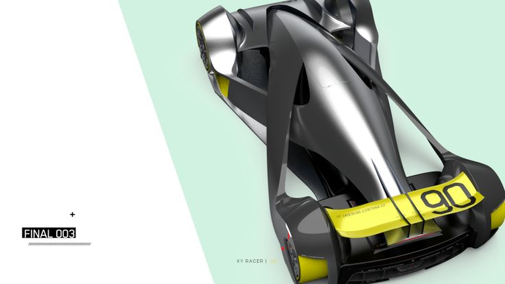 XY Race concept /// Michael Mills On the back of recent news of a redesigned Roborace driverless electric race car concept from their chief design officer Daniel Simon (the same man who brought you those light cycles in Tron: Legacy)… Source: Instagram ...we look at an alternative motorsport vision that