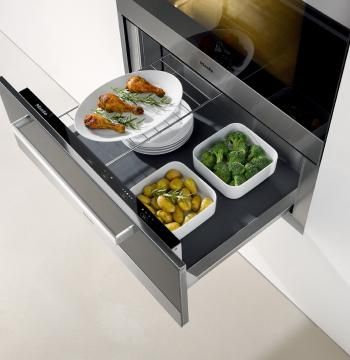 One of the most in-demand Miele appliances is this warming drawer -- a major asset to any home chef.
