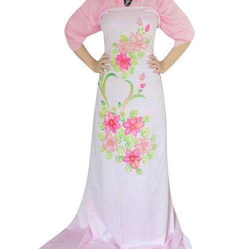Kain Lukis Satin Pastel Flowers - SLIGHT Shop http://www.slightshop.com/produk/kain-lukis-satin-pastel-flowers/