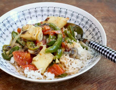 Moqueca a baiana, a quick and easy Brazilian fish soup/stew, from The Perfect Pantry.