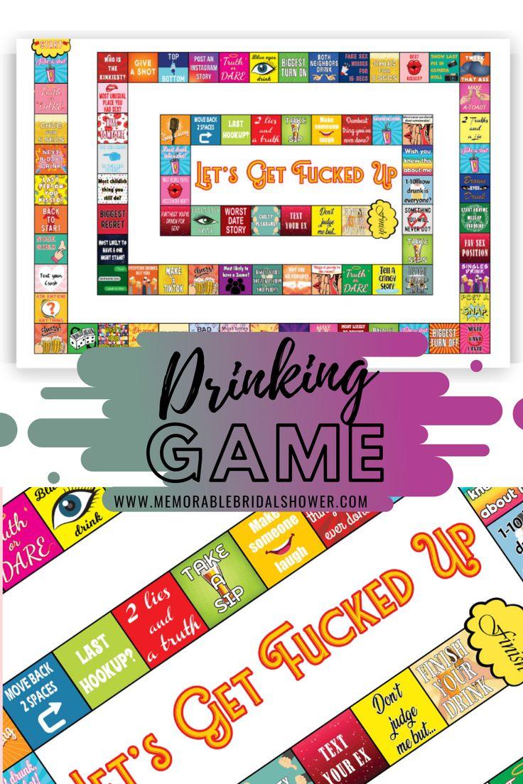 Drinking board game drinking board games bachelorette