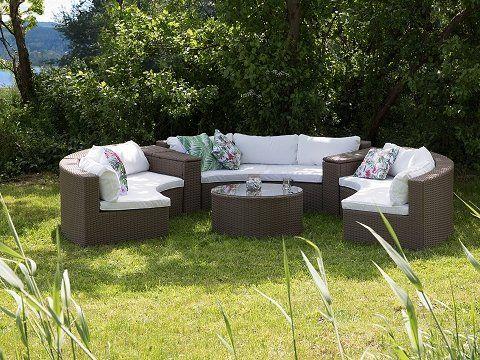 Die besten 25+ Garten lounge set Ideen auf Pinterest Outdoor - lounge ecke garten selber bauen