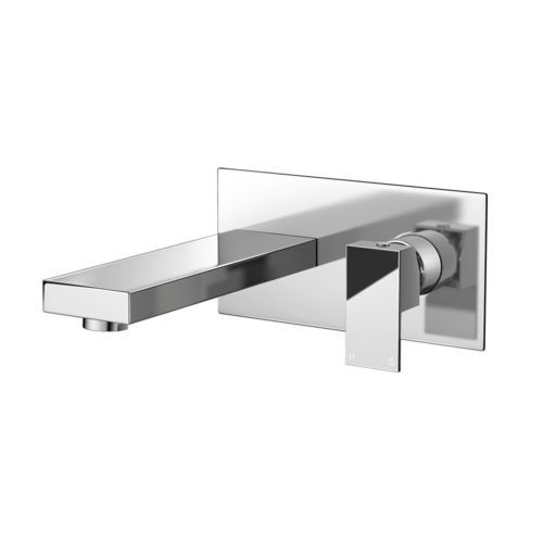 Square-Wall-Mounted-Modern-Sink-Chrome-Lever-Basin-Mixer-Tap-TB3206
