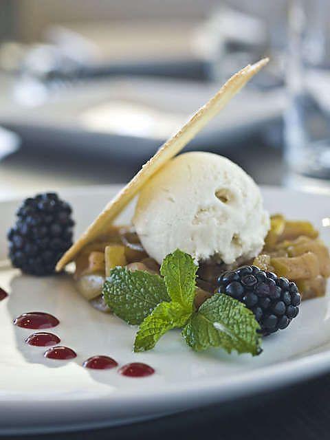 Hot Toddy Apple Dessert at La Cave Wine Bar And Boutique (Denver, CO ...