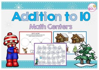 These centers are a perfect way to practice addition to 10 facts! Included are 6 different fun Winter themed activities that will be sure to help your students progress. Included in this pack:* Add It Up Reindeer + activity sheets* Match the snowy trees to the log cabins* Snowball addition boardgame* Linking addition facts - activity sheets* Speed Zone Mental Math equations* Cut and paste snowball activityHow to Get TPT credit to use on future purchases: Please go to your My Purchases page…