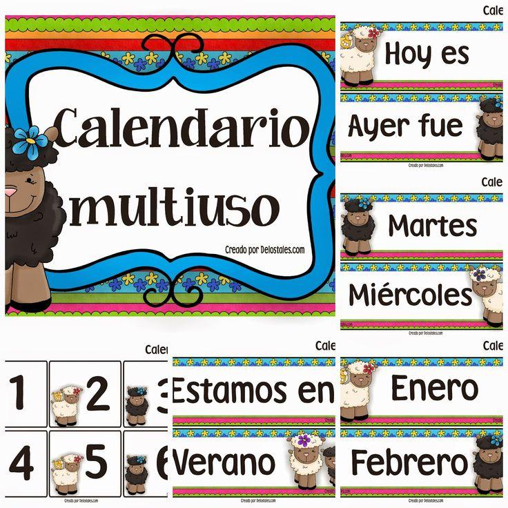 De los tales: Calendarios