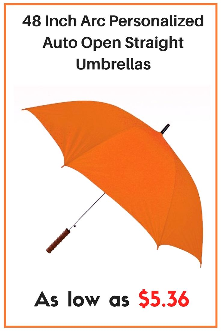 Invest in these custom umbrellas so your clients and staff will always be ready whatever the weather maybe.  #personal #folding #umbrellas #UVprotection #freesetup