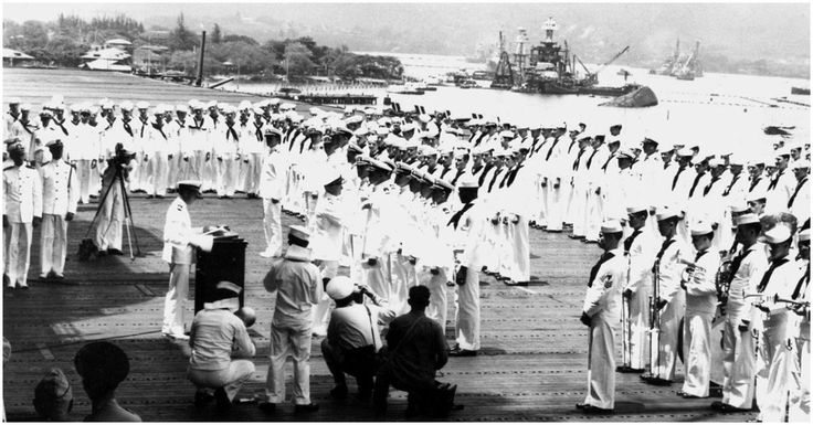First African American to Awarded The Navy Cross Was a Cook Firing .50-Caliber Machine Guns at Japanese Bombers At Pearl Harbor
