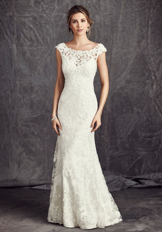 Gorgeous Gown by Kenneth Winston!! Available at Madeleine's Bridal Boutique in Old Town Clovis. 559.299.2619. www.madeleinesbridalboutique.com